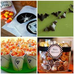 halloween birthday, halloween parties, halloween decor, cups, birthday parties, ghosts, parti idea, halloween movies, treat