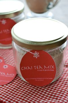 An easy recipe for Chai Tea Mix great for gift giving or to have on hand to enjoy a warm cup of Chai Tea yourself.