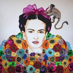 Frida tribute, Ashley Longshore