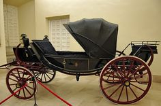 Royal Coach in Aranjuez Palace Spain