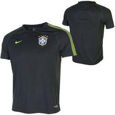 Nike Brazil Youth 2014 Squad Training Performance Jersey - Spruce