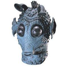 【コスプレ】 RUBIE'S(ルービーズ) 3209 Greedo Latex Mask (スターウォーズ) グリード ラテックスマスク - 拡大画像