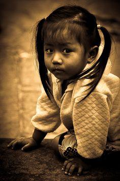 Little Girl, Angkor Wat, Cambodia