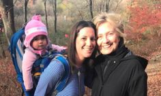 Election Got You Down? Young Mom Gains Hope From Chance Encounter With Hillary Clinton. | The Huffington Post