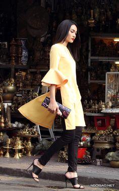 Mix áo dài cách tân tôn nét hiện đại - Ngoisao.net