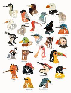 Geninne's Alphabet Birds $50