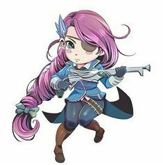 Chibi Lesley Chibi Wallpaper, Mobile Legend Wallpaper, Miya Mobile Legends, Legend Drawing, Mobiles, The Legend Of Heroes, Game Logo Design, Anime Girl Cute, Gaming Wallpapers