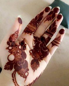 Kashee's Mehndi Designs, Modern Henna Designs, Floral Henna Designs, Henna Tattoo Designs Simple, Finger Henna Designs, Legs Mehndi Design, Back Hand Mehndi Designs, Latest Bridal Mehndi Designs, Mehndi Designs For Girls
