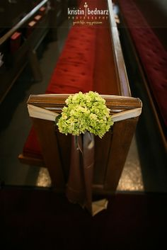 Unique Pew Decorations for Weddings | pew decoration without pew clips that may (or ... | Unique Wedding De ...