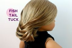 My new FAVORITE doll hair style!