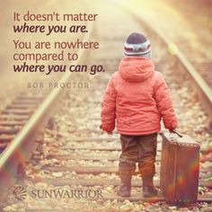 """It doesn't matter where you are. You are nowhere compared to where you can go."" - Bob Proctor #quote  #bobproctor  #bobproctorquotes  #kurttasche"