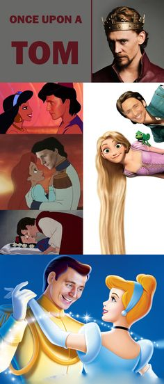 Hiddleston: the only real life Disney prince  burdenedwithgloriouspurpose123.tumblr.com