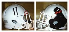 Part I - Virginia Tech helmets with Turkeys.  I kinda like this one.  Wished they had stuck with it for their bowl game.