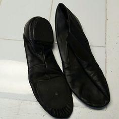 Capezio Dance Shoes Size 9 1/2 Medium Dance shoes by Capezio. Worn months in a studio. Capezio Shoes Athletic Shoes