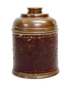 Vintage Circa 1900 Rumidor Corp. Copper Humidor
