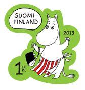 Muumi 1st class stamp 2013 (Finland)