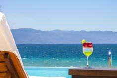 Alcoholic Drinks, Cocktails, Ocean Club, Puerto Vallarta, Lounge Areas, Cabana, White Wine, Swimming Pools, Glass