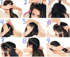Frozen Elsa's Coronation Updo Tutorial! #hairstyle #hairdo #howto #longhair - bellashoot.com