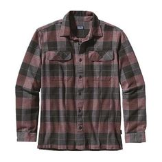 M's Long-Sleeved Fjord Flannel Shirt