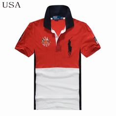 Ralph Lauren Men Country Big Pony Polo Short Sleeve USA