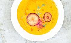 Dýňová polévka s jablkem a oříškovým máslem Kitchenette, Food, Success, Essen, Meals, Yemek, Eten, Kitchen Nook