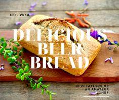 A Slice of Heaven (Part 2) - Beer Bread Beer Bread, Bread Bun, Pan Bread, Baking Buns, Bread Baking, Easy Delicious Recipes, Yummy Food, My Recipes, Bread Recipes