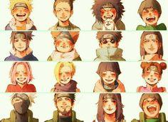 [Sasuke-Naruto-Gaara-Kiba] by Nikii-deska (N I K I I) with reads. Naruto Team 7, Naruto Shippuden Sasuke, Naruto Kakashi, Anime Naruto, Naruto Comic, Naruto Gaiden, Naruto Fan Art, Naruto Cute, Shikamaru