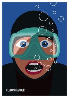 Eine Art Tagebuch von Thomas P. Roehtlisberger :: 02.06.2011 / Hello Stranger Illustration, Movies, Movie Posters, Art, Daily Journal, Art Ideas, Art Background, Film Poster, Illustrations