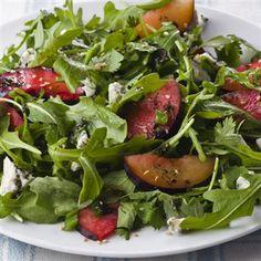 Richard Blais' Arugula and Peach Salad