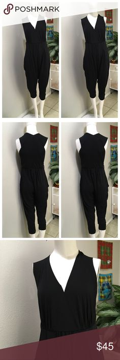 Rozae Nichols Black Jumpsuit Rozae Nichols Jumpsuit Rozae Nichols Pants Jumpsuits & Rompers