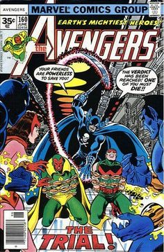Cover for The Avengers (Marvel, 1963 series) #160 [35¢, Square Box]