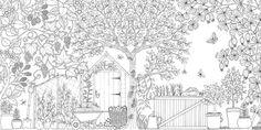 jardin à colorier - Recherche Google