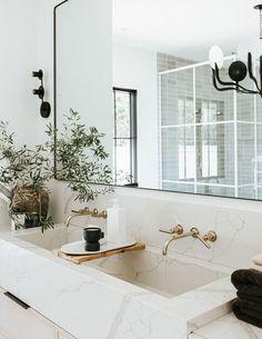 Interior Design Inspiration, Bathroom Inspiration, Home Decor Inspiration, Bathroom Inspo, Design Ideas, Interior Ideas, Decor Ideas, Home Goods Store, Beautiful Bathrooms