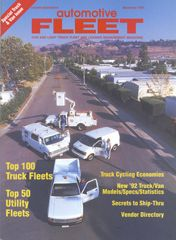 December 1991 Issue - Automotive Fleet Magazine