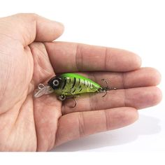 "Universe of goods - Buy Swim Fish Fishing Lure Artificial Hard Crank Bait topwater Wobbler Japan Mini Fishing Crankbait lure"" for only USD."