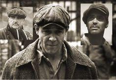 vintage style newsboy/Gatsby cap