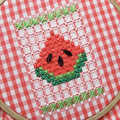 Gingham-Embroidery-Watermelon-09d