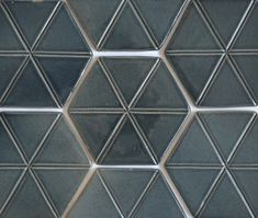 Grey hexagon tiles. Hexagon Tiles, Wall Tiles, Dining Area, Tile Floor, Texture, Handmade, Crafts, Design, Decor