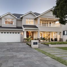 Have a peek at these men House Updates Diy American Style House, American Houses, American Home Design, Dream House Exterior, Dream House Plans, Luxury Homes Exterior, Hamptons Style Homes, The Hamptons, Suburban House