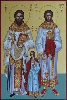 Πνευματικοί Λόγοι: «Θείοι Αθληταί, Ραφαήλ τε και Νικόλαε, και Ειρήνη ...