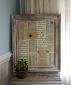 ooh, i might do this to a boring cork board i just found!
