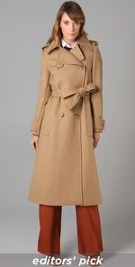 See by Chloe Double Breasted Long Coat