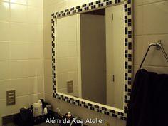 Espelho de mosaico by ALÉM DA RUA ATELIER/Veronica Kraemer, via Flickr