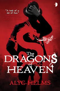 The Dragons of Heaven by Alyc Helms (June cover by Fantasy Faction, New Books, Books To Read, Heaven Book, Upcoming Series, English Reading, Beautiful Cover, Fantasy Books, The Magicians