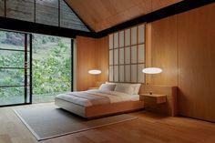 Japanese Inspired Bedroom, Japanese Style Bedroom, Japanese Interior Design, Japanese House, Design Minimalista, Minimalist Bedroom, Architectural Digest, Furniture, Instagram 5