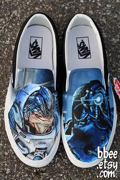 Custom Mass Effect Shoes