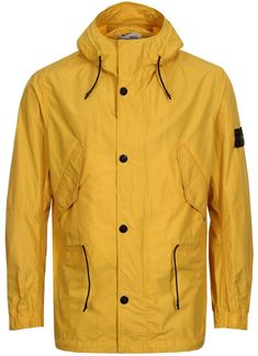 Stone Island Micro Reps Jacket - Yellow