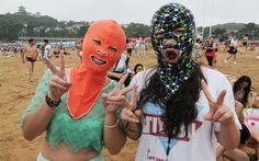 Female beachgoers in China are flocking to the coast sporting the latest…