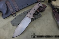 Miller Bros. Blades Custom Handmade Knives, Swords & Tomahawks