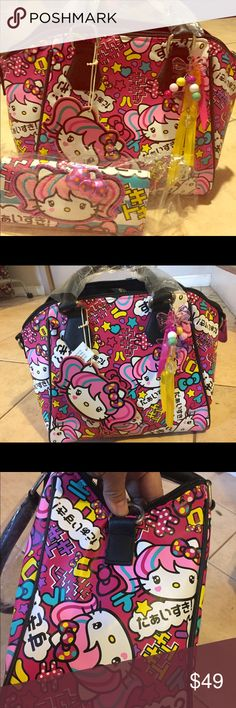392fcec51957 NWT Hello Kitty Japanimation tote and wallet Brand new with tag tote bag  and matching wallet